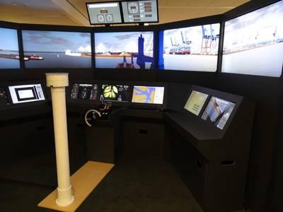 NAUTIS Full Mission Bridge Simulator