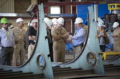 Navy CNO at Marinetter Marine: Photo credit USN