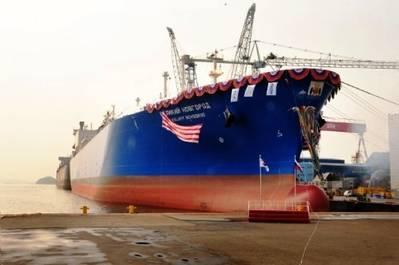 New LNG carrier Velikiy Novgorod: Photo courtesy of Gazprom