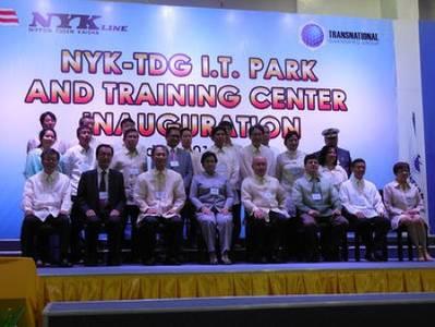 New Maritime Academy Opening: Photo credit NYK-TDG