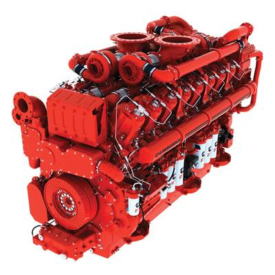 new QSK95 engine with 4000 hp (2983 kW) output