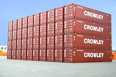 New Shipping Containers: Photo credit Crowley
