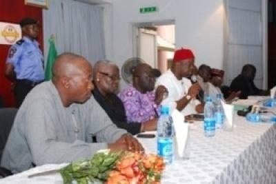 Nigerian MLC Press Conference: Photo credit Nigeria Govt.