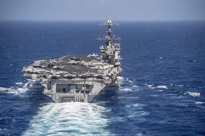 Nimitz-class aircraft carrier USS Harry S. Truman  160615-N-NX-690-003 Photo US Navy
