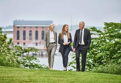 Nina Østergaard Borris, Mia Østergaard Nielsen and Torben Østergaard-Nielsen (Photo: USTC)
