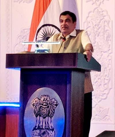 Nitin Gadkari, Indian Shipping Minister. Photo: PIB