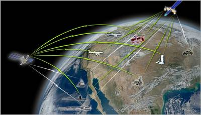 NMT Satellite System: Image credit Raytheon