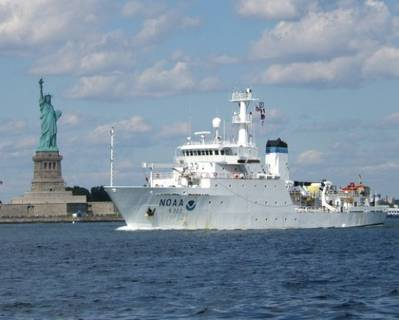 NOAA Ship 'Thomas Jefferson': Photo credit NOAA