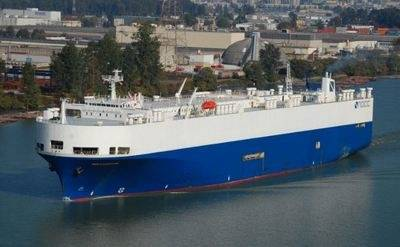 NOCC Caspian: Photo credit Norwegian Car Carriers