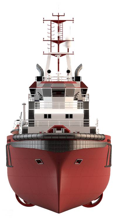 Norgear advanced Multi Step Hybrid Gear for a newbuild Anchor Handling Tug (AHT).