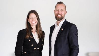 Nor-Shipping Directors Karen Algaard and Per Martin Tanggaard (Photo: Nor-Shipping)