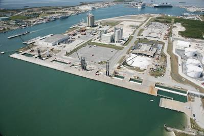 North Cargo Piers 1 and 2 (Photo courtesy of Port Canaveral)