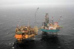 North Sea Elgin Platform: Photo credit Total