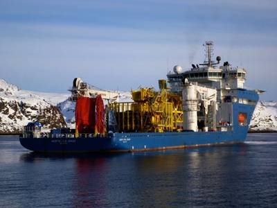 North Sea Giant: Photo credit Technip
