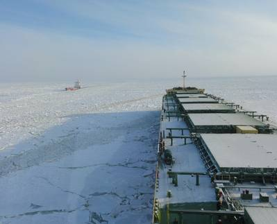 Northern Sea Route: File photo