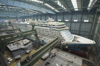 Norwegian Breakaway: Image courtesy of Meyer Werft
