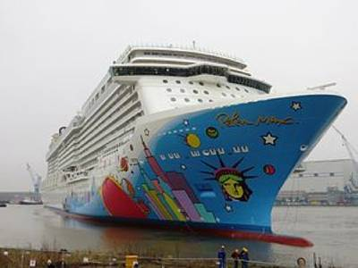 Norwegian Breakaway: Image courtesy of NCL