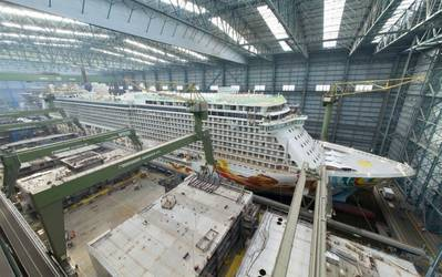 Norwegian Getaway: Photo courtesy of Meyer Werft