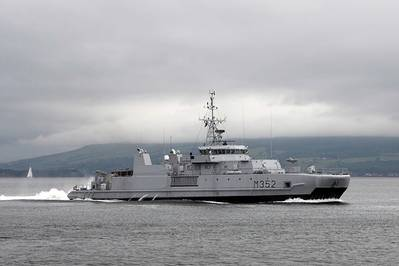 Norwegian Warship: Photo credit Wiki CCL
