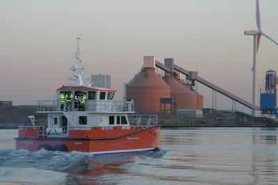 'NSL Discovery' during sea trials