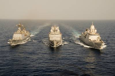 Counter-piracy Warships: Photo credit EUNAVFOR