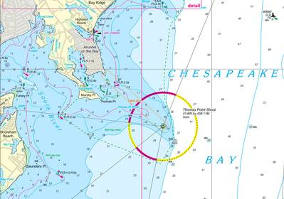 Nv-Charts has produced new chart regions for Chesapeake Bay (Photo: Nv-Charts).