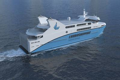 Environship Ferry: Image credit Rolls-Royce
