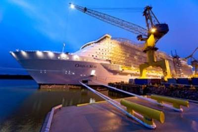 Oasis of the Seas: Photo courtesy of ABB