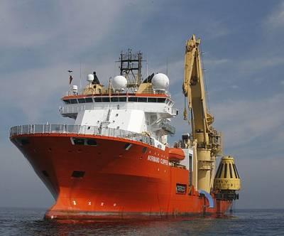 Ocean Installer OCV: Photo courtesy of Ocean Installer