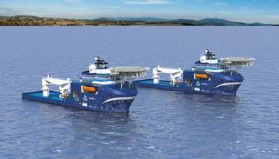 Offshore Enviro Vessels: Photo courtesy of Wärtsilä