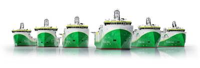 Offshore shipowner Polarcus has ordered six new ships of Ulstein design.