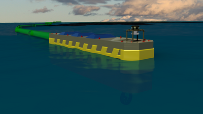 Oil Spill Containment System: Image credit Scout Exploration