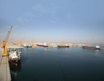 Oman Drydock ariel view