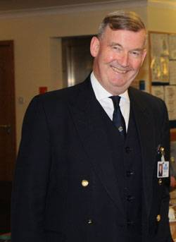 Commander Brian Boxall-Hunt, chief executive of the Society