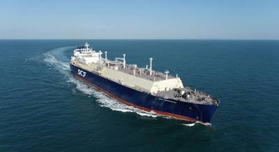 On January 15, 2021, PAO Sovcomflot (SCF Group) took delivery of SCF Timmerman, a new 174,000-cbm LNG carrier built by Hyundai Samho Heavy Industries. Photo credit Sovcomflot