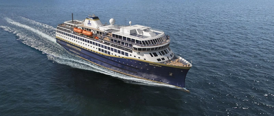 One of Havila Kystruten AS new coastal cruise ship. (Photo: Havila Kystruten AS)