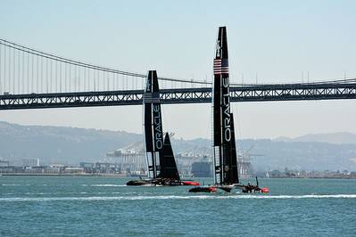 Oracle Team Racing Yachts: Photo CCL WPPilot