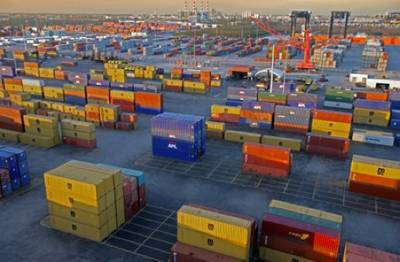 Port Everglades container terminals: Photo credit Port Everglades