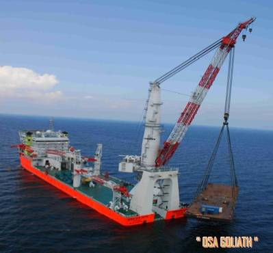 'OSA Goliath': Photo credit Coastline Group