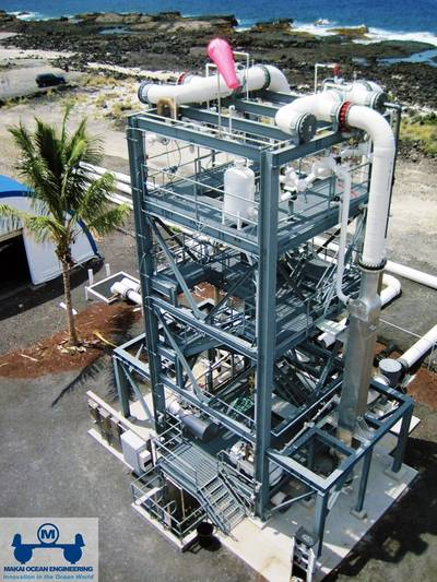 OTEC Test Facility at NELHA