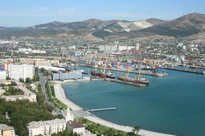 Photo courtesy Novorossiysk Commercial Sea Port