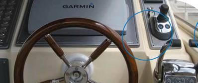 Powerboat Joystick Control: Image courtesy of Yanmar