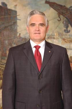 Panama Canal Administrator Jorge L. Quijano