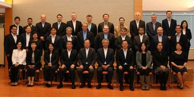 Participants at the Jointly Held Training Program for Staff from around the World