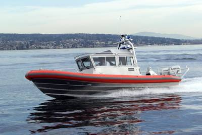 Patrol 28: all-aluminum vessel designed by Kvichak/Amgram Ltd., UK