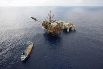 Petrobas Platforms: Photo credit MAN
