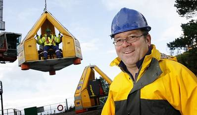 Philip Strong, chief executive and founder of Reflex Marine