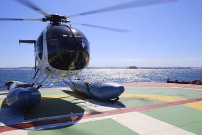 Babcock Wins Newcastle Helicopter Marine Pilot