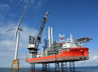 (Photo: Beatrice Offshore Windfarm Ltd.)
