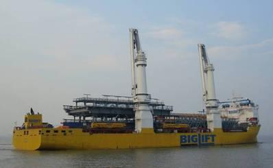 Photo: BigLift Shipping